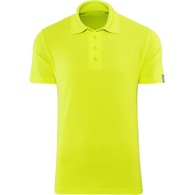 Meru Wembley Funktions-Poloshirt Herren lime punch